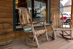 Minturn Inn - Deck and Chairs